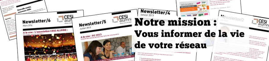 CESI Alumni newsletter